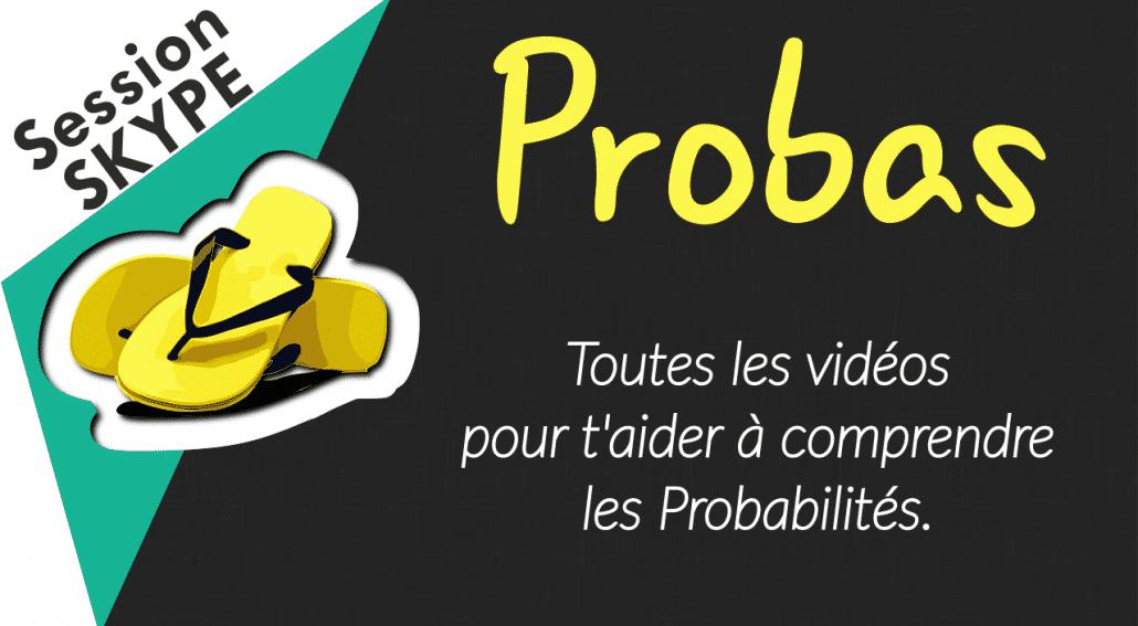 Vidéos de Maths - Vidéos sur les Probabilités
