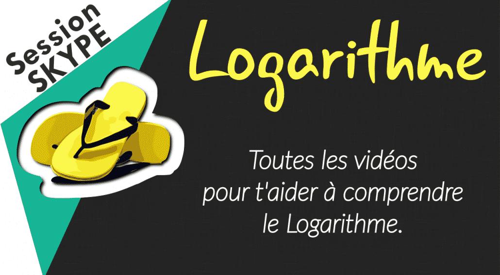 Vidéos de Maths - Vidéos sur le Logarithme