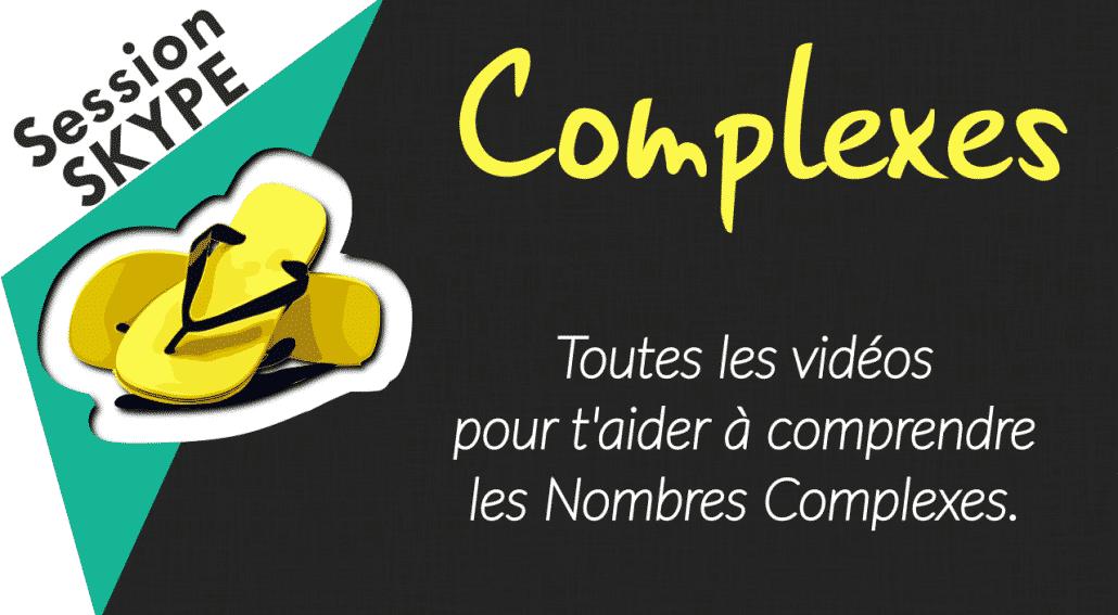 Vidéos de Maths - Vidéos sur les Nombres Complexes