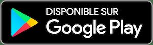 Dispo sur Google Play Store