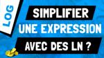 """Comment """"simplifier"""" une expression avec des ln ?"""