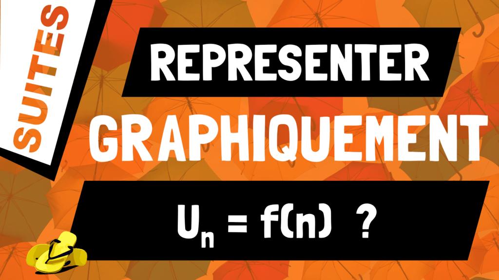 Comment représenter graphiquement une suite définie par Un = f(n) ?