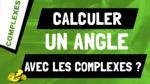 Comment calculer l'angle entre 2 vecteurs grâce à leurs affixes ?