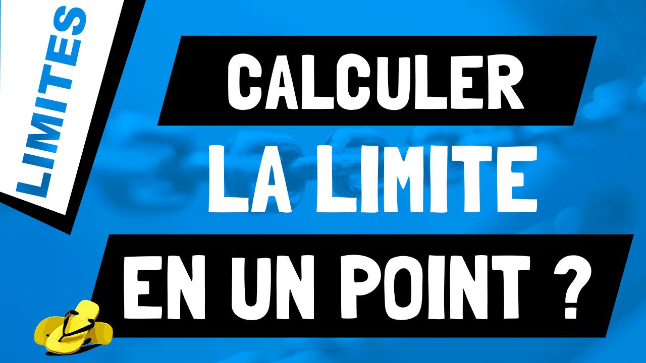 Comment calculer la limite d'une fonction en un point où elle est définie ?