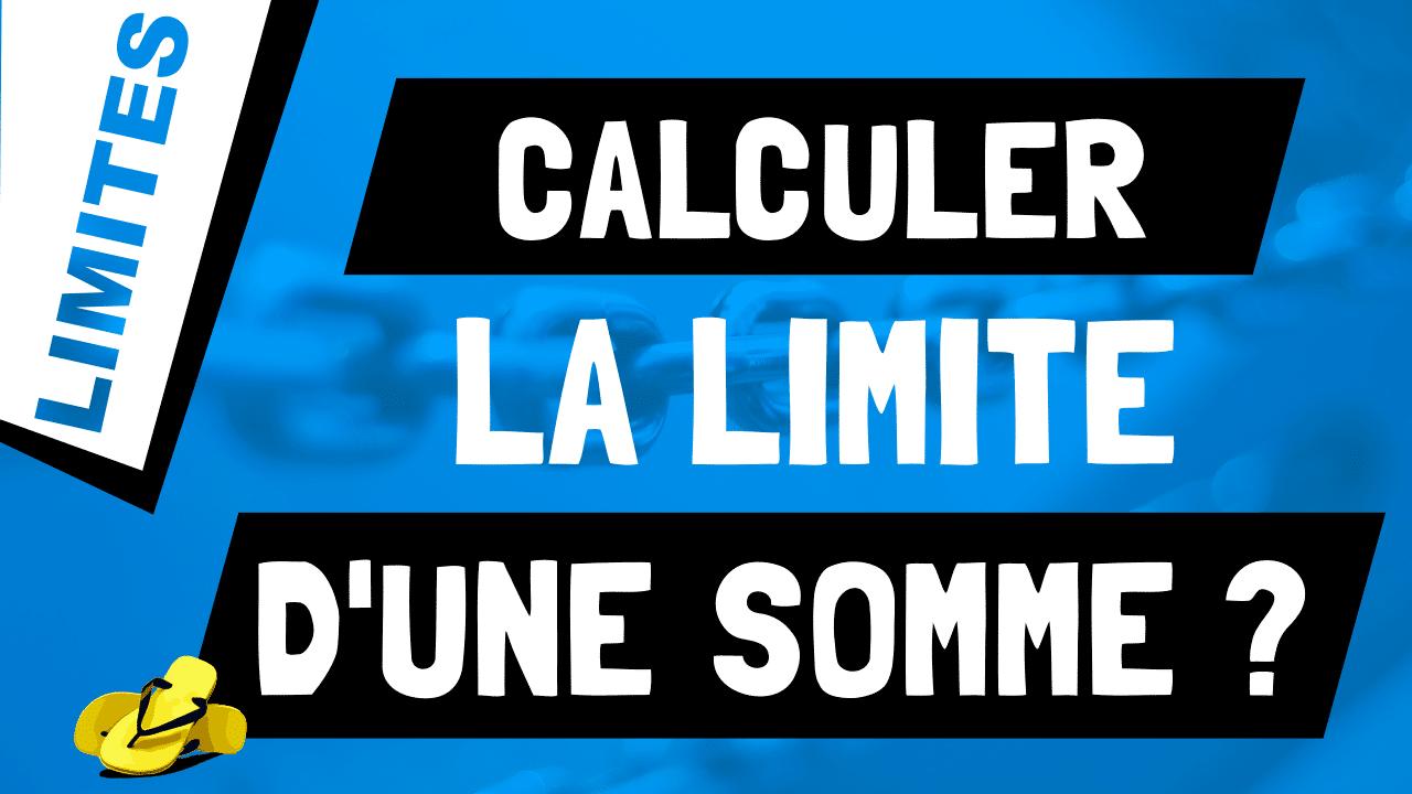 Que vaut la limite d'une somme ou d'une soustraction de fonctions ? lim f ± g