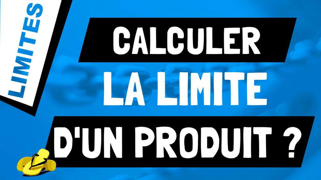 Que vaut la limite d'une multiplication de fonctions ? lim f*g