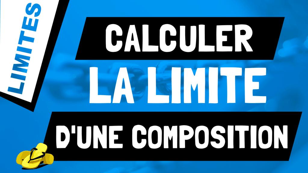 Que vaut la limite d'une fonction composée ? lim f(g(x))