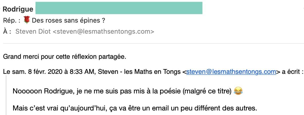 avis de Rodrigue sur les Maths en Tongs